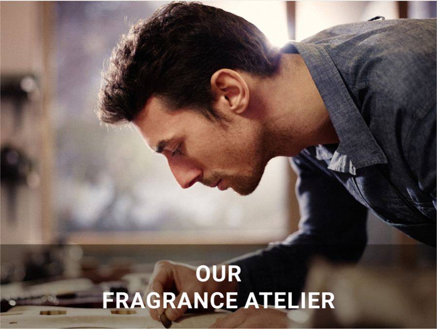 our fragrance atelier