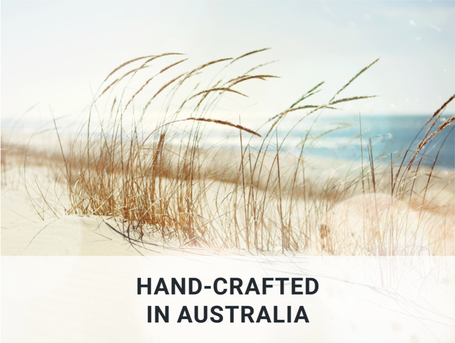hand crafted in australia